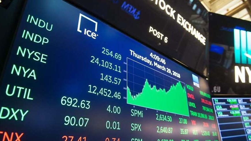 stocks photo as a background